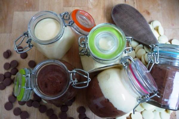 Mousse aux deux chocolats *recette*