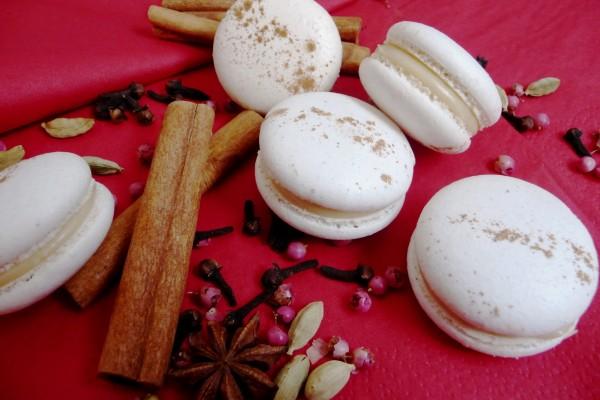 Macarons chai & chocolat blanc *recette*