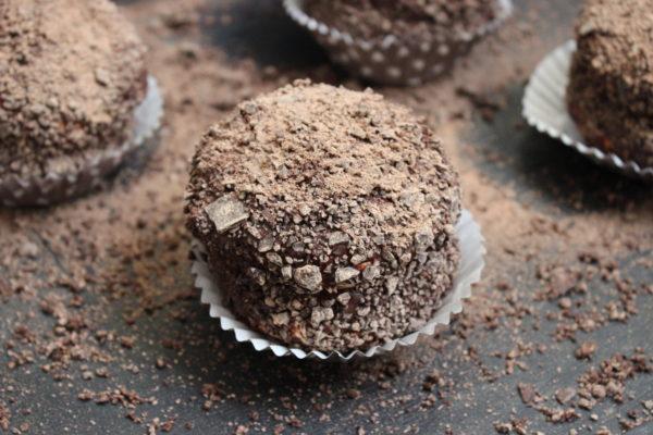 Meringues & ganache chocolat
