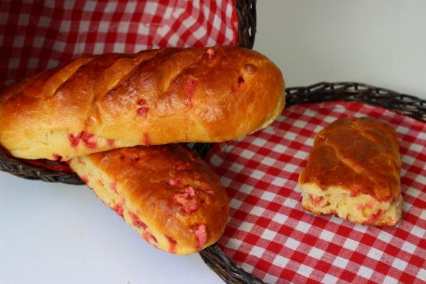 Baguettes viennoises aux pralines roses *recette*