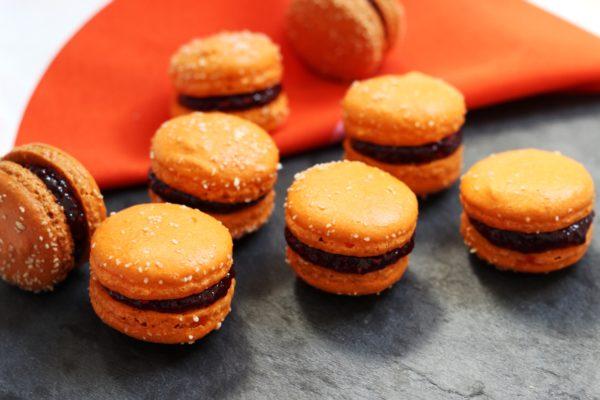 Macarons à la framboise *recette*