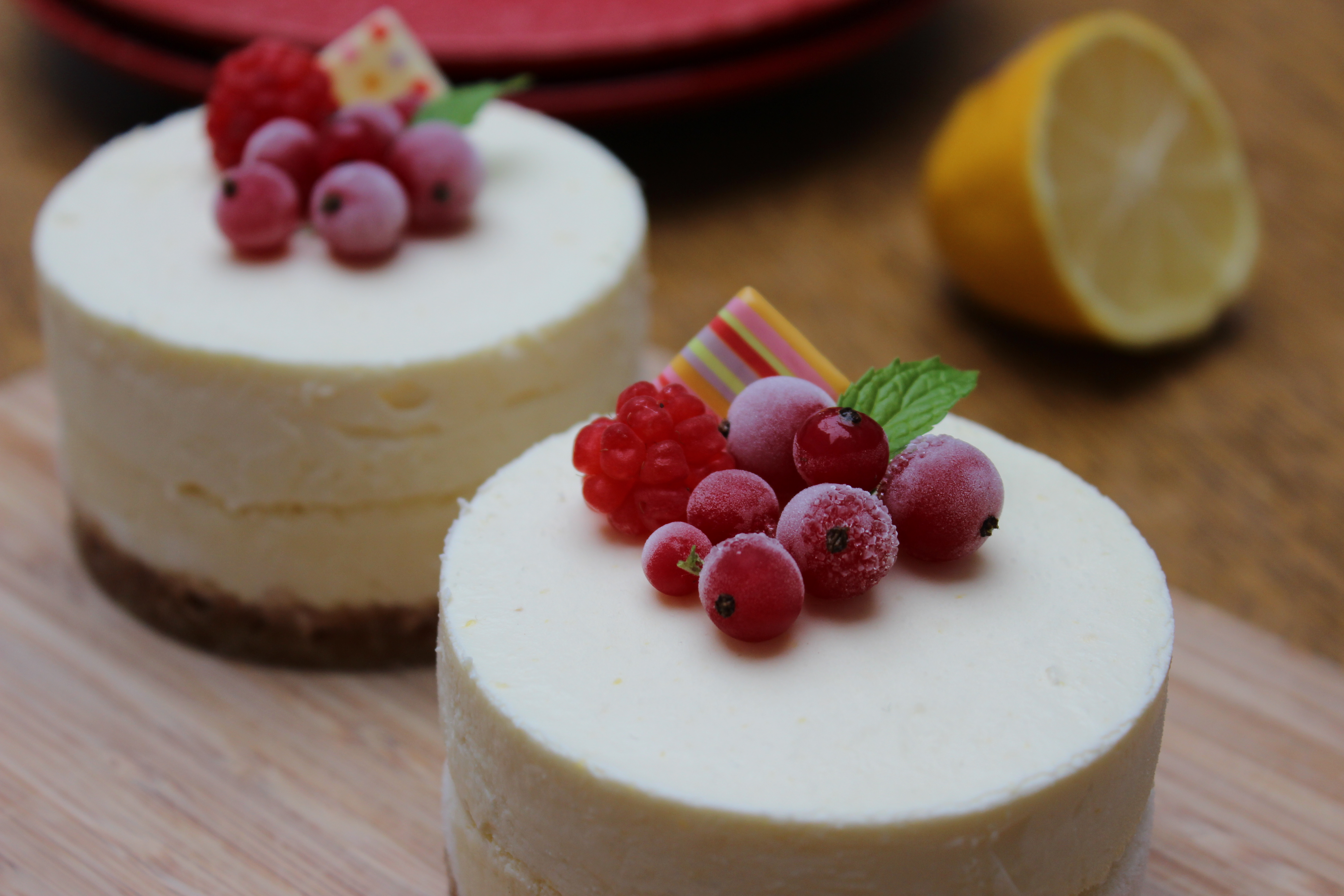 Cheese Cake Fruits Rouge Fromage Frais