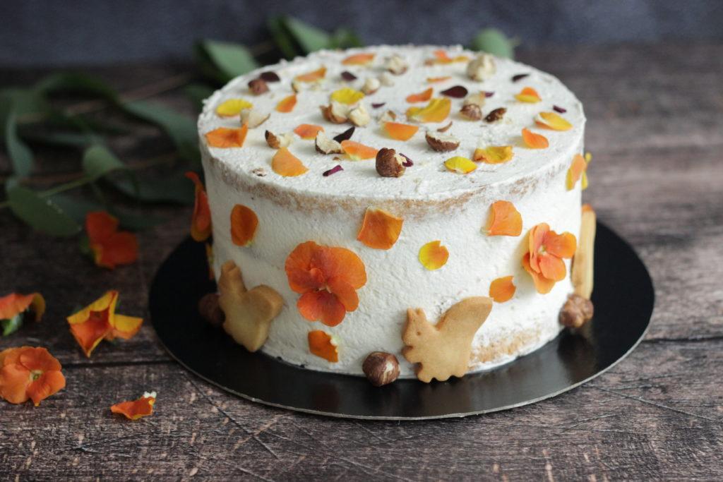 Naked cake automne